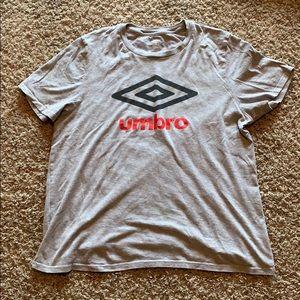 Grey Umbro t shirt